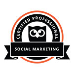 Hootsuite Certified Social Marketing Professional