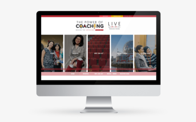 The Power of Coaching LIVE Website and Brand Design